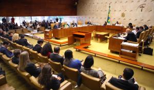 Sessão plenária do STF. Foto: Nelson Jr./SCO/STF (28/02/2018)